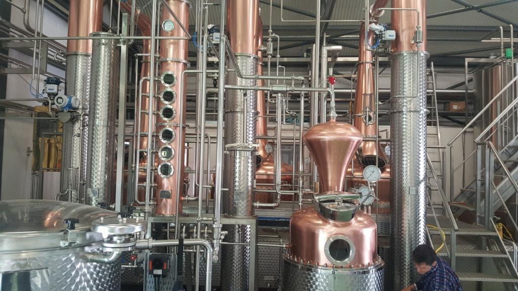 distillery using certuss generator